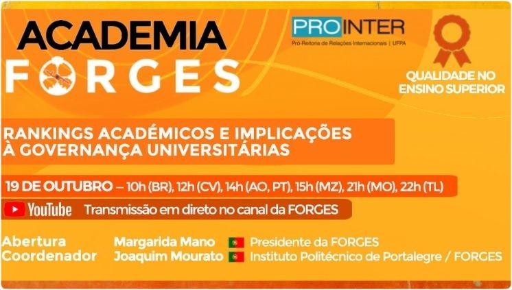 Academia Forges - Rankings Acadêmicos e Implicações à Governança Universitária