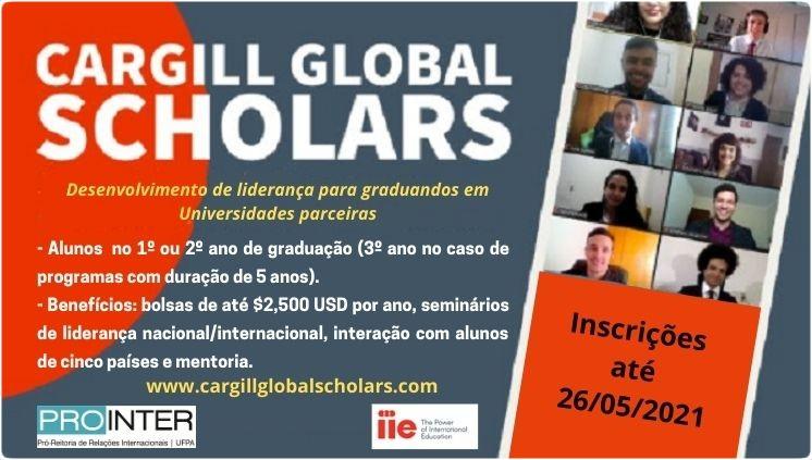 Programa Cargill Global Scholars 2020-2021