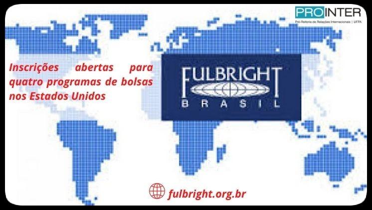 Fulbright Brasil oferece bolsas para brasileiros nos EUA