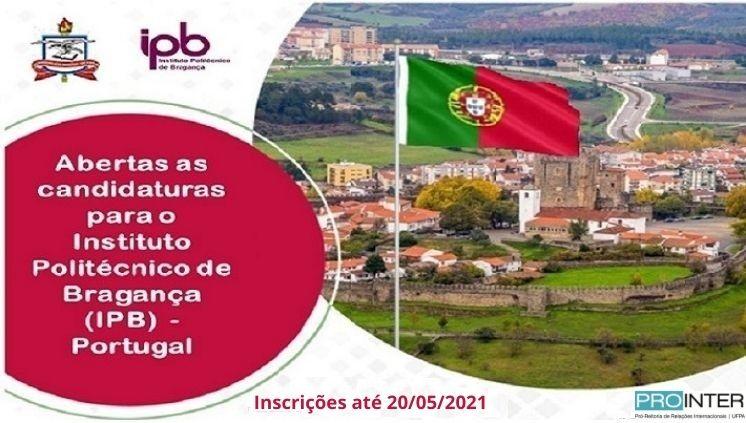 Abertas as candidaturas para o Instituto Politécnico de Bragança (IPB) – maio/2021