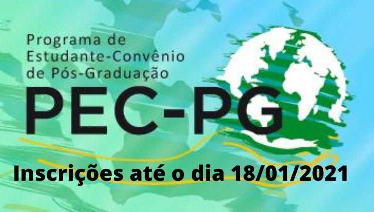 PEC/PG: Interessados têm até o dia 18 para se inscrever