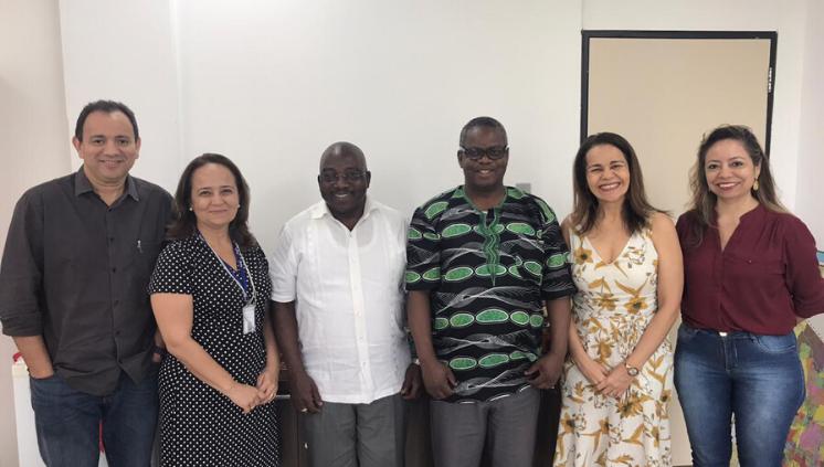 PROINTER realiza encontro com representantes da Academia de Ciências Policiais de Moçambique