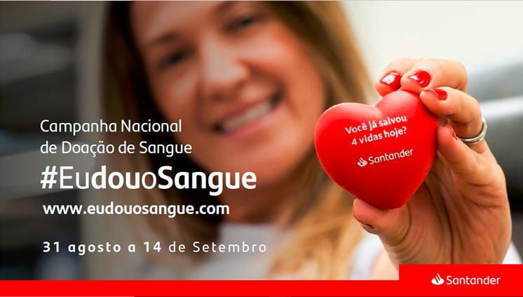Campanha #EuDouoSangue